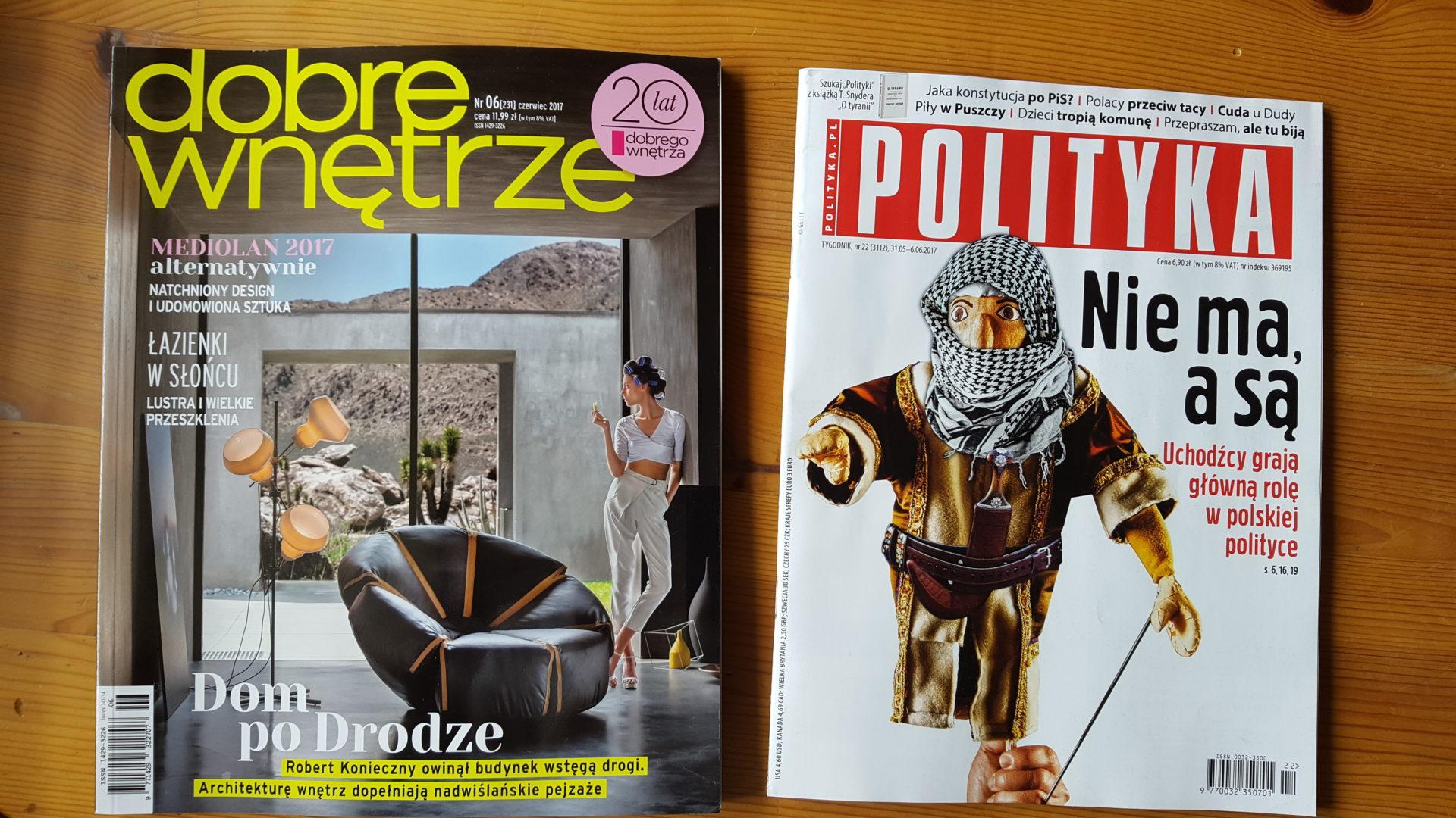 Polityka i Dobre Wnętrze, nasze zdjęcia znów w prasie